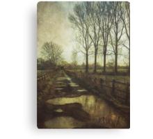 Walking the Bridleway Canvas Print