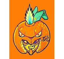 Fruity Hero // Orange Gunner Photographic Print