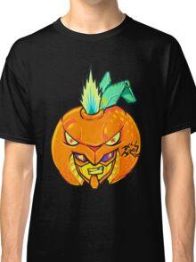 Fruity Hero // Orange Gunner Classic T-Shirt