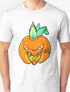 Fruity Hero // Orange Gunner Unisex T-Shirt