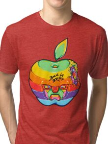Fruity Hero // Apple Max Tri-blend T-Shirt