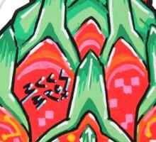 Fruity Hero // Electric Dragonfruit Sticker
