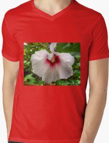 White Rose Of Sharon Mens V-Neck T-Shirt