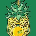 Fruity Hero // Pineapple Robo by bkkbros