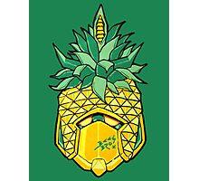 Fruity Hero // Pineapple Robo Photographic Print