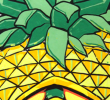 Fruity Hero // Pineapple Robo Sticker