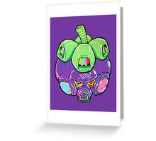 Fruity Hero // Super Mangosteen Greeting Card