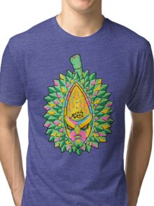 Fruity Hero // Durian Major Tri-blend T-Shirt