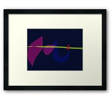 Electric Wire Framed Print