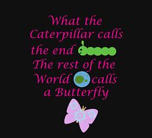 The Rest of the World calls a Butterfly Womens Fitted T-Shirt