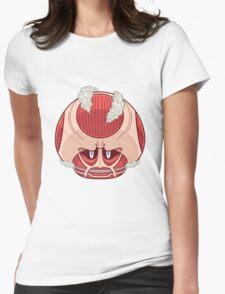 Super Titan Mushroom Womens Fitted T-Shirt