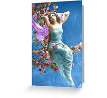 Rose swing Greeting Card