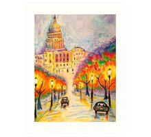 Washington D.C. - The Capitol at Dusk Art Print