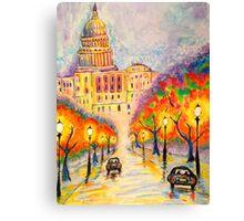 Washington D.C. - The Capitol at Dusk Canvas Print