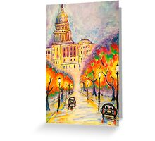 Washington D.C. - The Capitol at Dusk Greeting Card