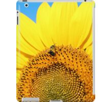 bright yellow sunflower  iPad Case/Skin