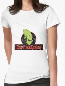 Rupture Farms Grime Womens Fitted T-Shirt