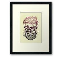 Hipster is Dead Framed Print