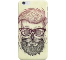 Hipster is Dead iPhone Case/Skin