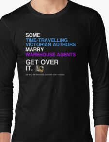 Some Victorians marry Warehouse agents Dark Version. Long Sleeve T-Shirt