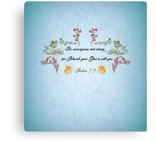 Encouraging Thought Canvas Print