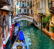 Venice Canal by Tom Gomez