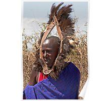 Masai Greeter Poster