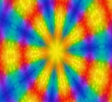 Kaleidoscope Rainbow by Scott Mitchell