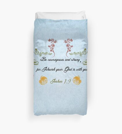 Encouraging Thought Duvet Cover