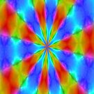 Kaleidoscope rainbow 2 by Scott Mitchell