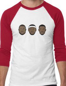 Miami Heat Big 3 Men's Baseball ¾ T-Shirt