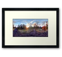 Wimbledon Sunset Framed Print