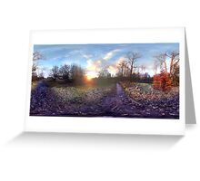 Wimbledon Sunset Greeting Card