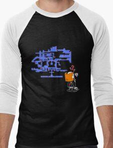 Where do I Go Now? Men's Baseball ¾ T-Shirt