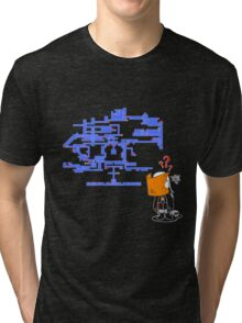 Where do I Go Now? Tri-blend T-Shirt