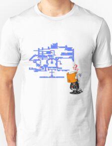 Where do I Go Now? Unisex T-Shirt