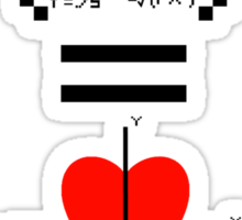 Life's Most Important Equation Sticker