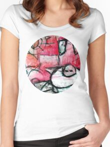 breaking the house Women's Fitted Scoop T-Shirt