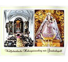 Wallfahrtskirche Hohenpeissenberg mit Gnadenkapelle Poster