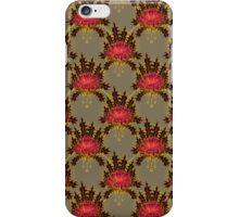 Vintage Rose Wallpaper iPhone Case/Skin