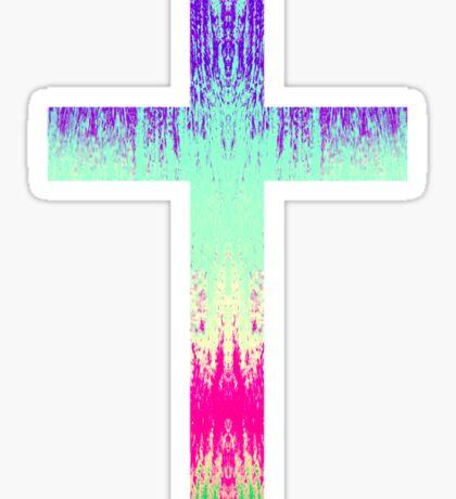 Cross Sticker