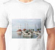 fishing boats and sailboats Unisex T-Shirt
