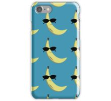 Banana Sunglasses iPhone Case/Skin