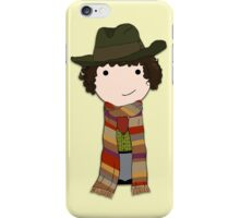 If You Can't Be Childish Sometimes -- Fourth Doctor quote print iPhone Case/Skin