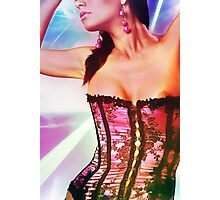Woman in Color Photographic Print