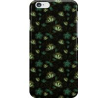 Green Flowers iPhone Case/Skin