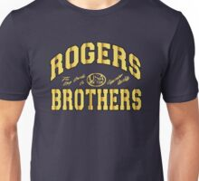 gold usa ny by rogers brothers Unisex T-Shirt