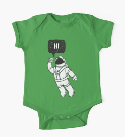 Greetings from space One Piece - Short Sleeve