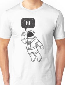 Greetings from space Unisex T-Shirt