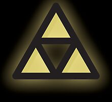 Simple Triforce by Lauramazing